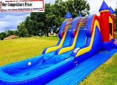 Double Dip (Dual Water Slide Combo with Pool)