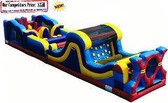 EXTREME-X (50ft Dual Race Lane Obstacle Course)