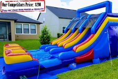 HYDRA (16ft X 30ft Dual Lane Water Slide)