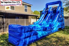 M SLIDE Royal (16ft X 30ft Single Lane Water Slide)