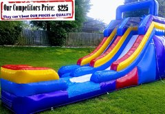 <b>M SLIDE (16ft X 30ft Single Lane Water Slide)