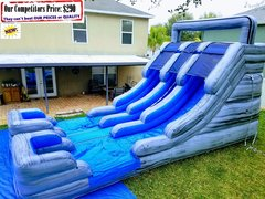 <b>Hydra 2.0 (16ft X 30ft Dual Lane Water Slide)