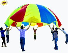 Rainbow Parachute (GIANT 12 foot)