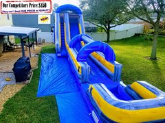 TSUNAMI XL (20ft X 60ft Water Slide with Slide Extender & Large Pool)