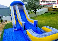 Tsunami (19ft X 38ft Water Slide with Large Pool)