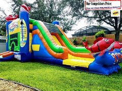 Big Kahuna (Water Slide Combo with Pool & Basketball Hoop)