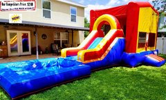 <b>Gambrel  (Water Slide Combo with Pool)