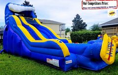 WIPE OUT (20ft X 40ft GIANT Water Slide)