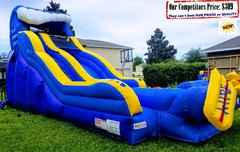 <b>WIPE OUT (20ft X 40ft GIANT Water Slide)