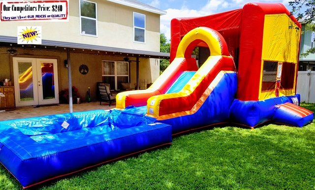 Gambrel  (Water Slide Combo with Pool)
