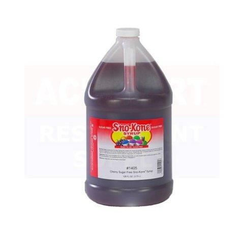 Cherry Syrup Gallon and Supplies