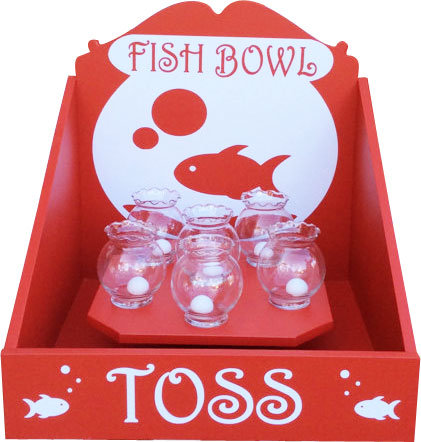 Fish Bowl Toss Game