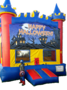 Halloween Castle Bouncer