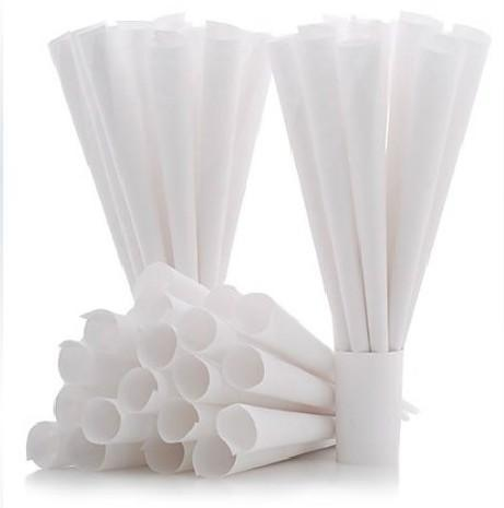 Cotton Candy Paper Cones 25ct