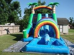 18ft Double Funnel Tunnel w Pool
