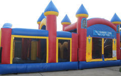 Triple Play Obstacle Bounce House Dry2