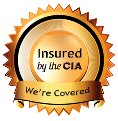 Insured by the CIA badge