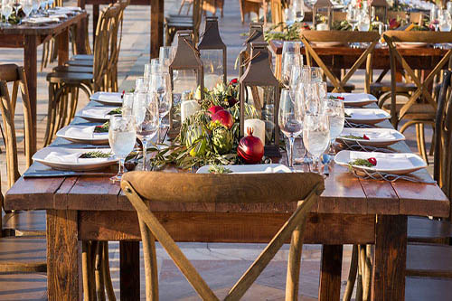 table and chair rental
