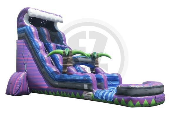 22' Purple Crush Water Slide