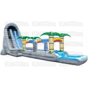 27' Tropical Falls Dual Lane Water Slide
