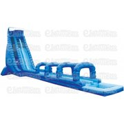 36' Tidal Wave Dual Lane Water Slide