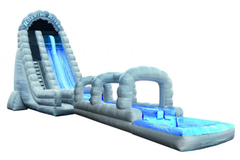 27' Roaring River Dual Lane Water Slide
