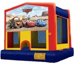 Cars Bounce House