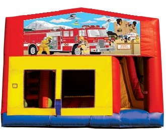 Firefighters 5n1 Combo Bouncer