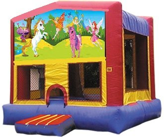 Pixie Fairy Bounce House