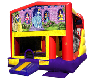 Disney Princess 4n1 Combo Bouncer