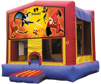 BOUNCE HOUSE MODULAR WITH THEME PANEL OPTIONS