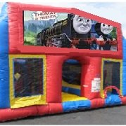 Choo Choo 70 Foot Obstacle Wrap Around Maze