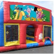 Dora 70 Foot Obstacle Wrap Around Maze