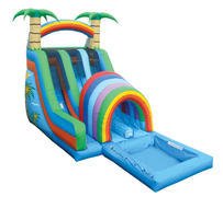 FUNNEL WATER SLIDE (WET)