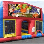 Halloween 70 Foot Obstacle Wrap Around Maze