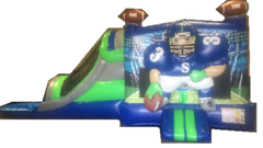 The Hawk House Water Slide Combo