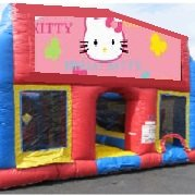 Hello Kitty 70 Foot Obstacle Wrap Around Maze