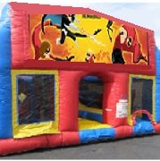 Incredibles 70 Foot Obstacle Wrap Around Maze