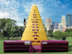 King of the Mountain Inflatable Rock Climbing Wall