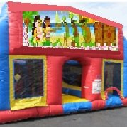 Luau 70 Foot Obstacle Wrap Around Maze