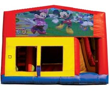 Mickey n Minnie 5n1 Combo Bouncer