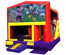 Mickey n Minnie 4n1 Combo Bouncer