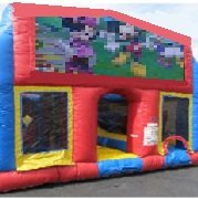 Mickey n Minnie 70 Foot Obstacle Wrap Around Maze