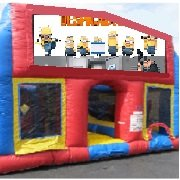 Minions 70 Foot Obstacle Wrap Around Maze