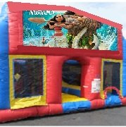 Hawaiian Princess 70 Foot Obstacle Wrap Around Maze