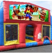Pirates 70 Foot Obstacle Wrap Around Maze