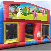 Pixie Fairy 70 Foot Obstacle Wrap Around Maze