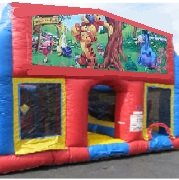 Winnie the Pooh 70 Foot Obstacle Wrap Around Maze