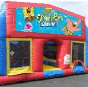 SpongeBob 70 Foot Obstacle Wrap Around Maze