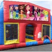Strawberry Shortcake 70 Foot Obstacle Wrap Around Maze